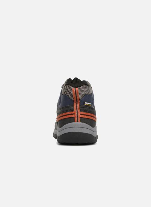 Zapatillas de deporte Keen Targhee Mid Azul vista lateral derecha