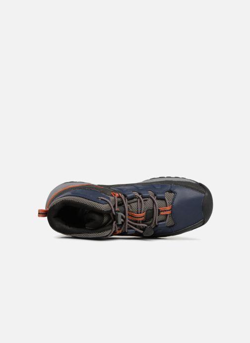 Chaussures de sport Keen Targhee Mid Bleu vue gauche