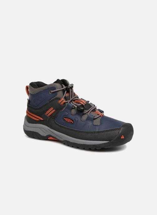 Chaussures de sport Keen Targhee Mid Bleu vue détail/paire