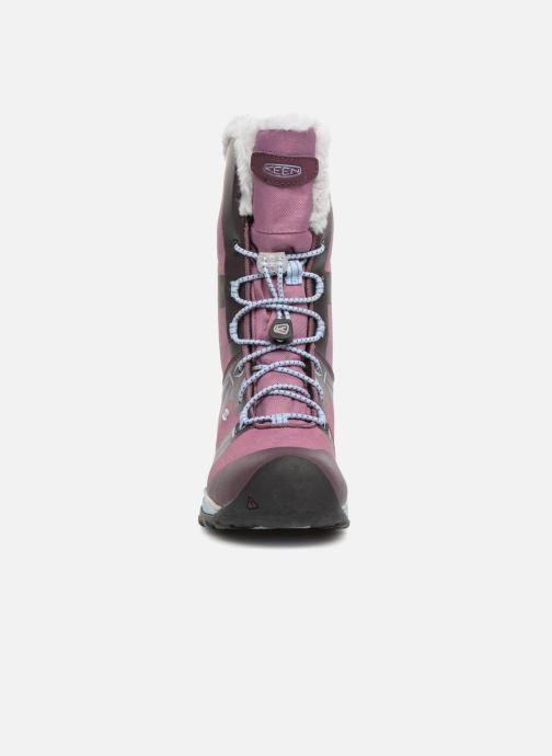 Zapatillas de deporte Keen Terradora Winter Violeta      vista del modelo