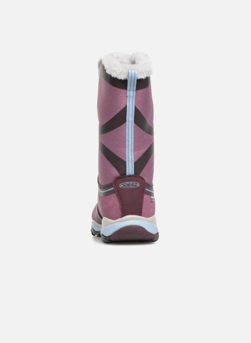 Chaussures de sport Keen Terradora Winter Violet vue droite