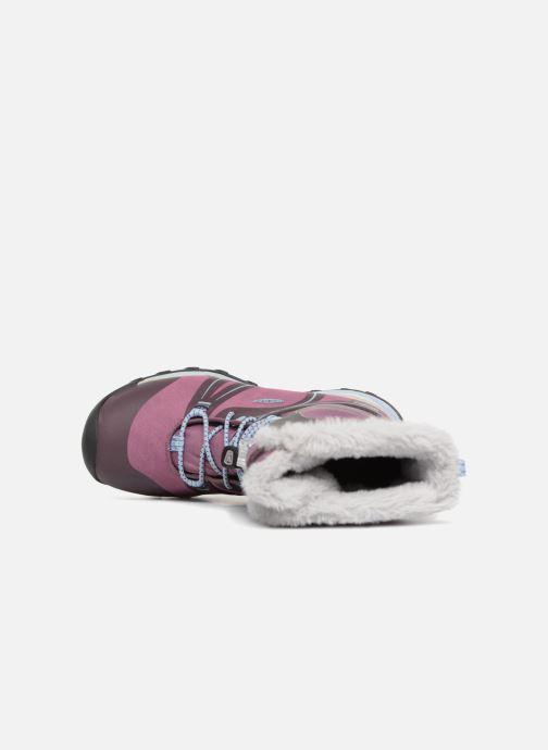 Zapatillas de deporte Keen Terradora Winter Violeta      vista lateral izquierda