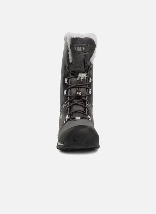 Sportschuhe Keen Terradora Winter schwarz schuhe getragen