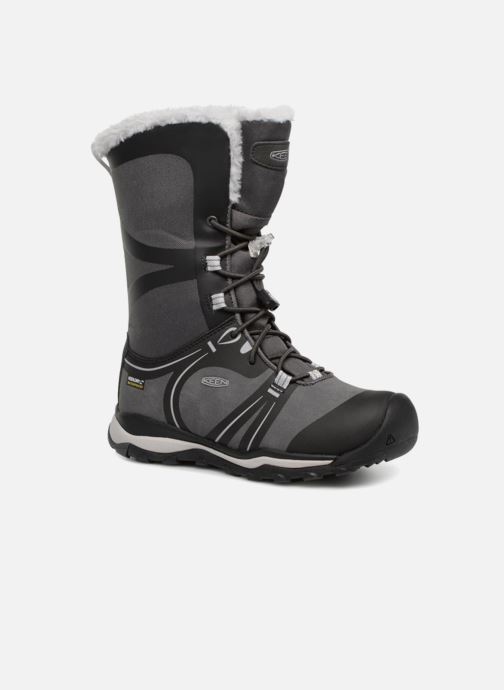 Sport shoes Keen Terradora Winter Black detailed view/ Pair view