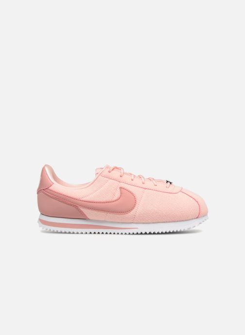 Deportivas Nike Cortez Basic Txt Se (GS) Rosa vistra trasera