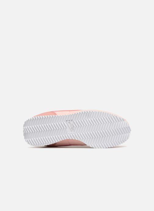 Deportivas Nike Cortez Basic Txt Se (GS) Rosa vista de arriba