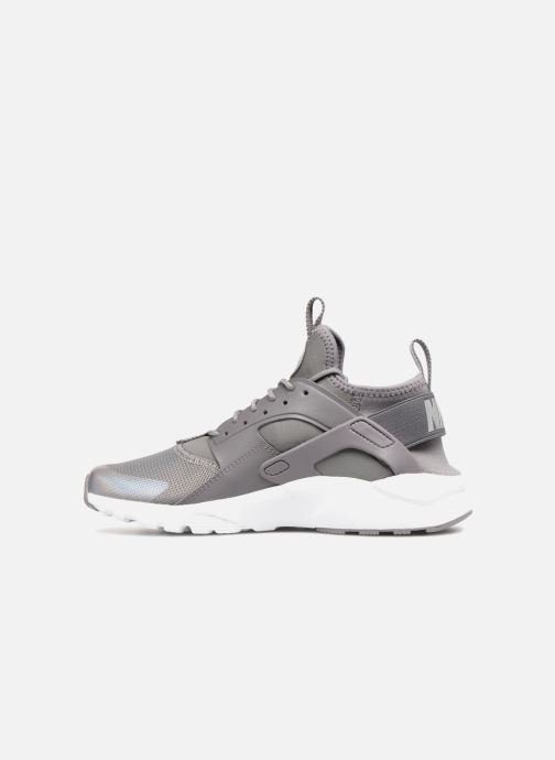 Sneaker Nike Air Huarache Run Ultra (GS) grau ansicht von vorne