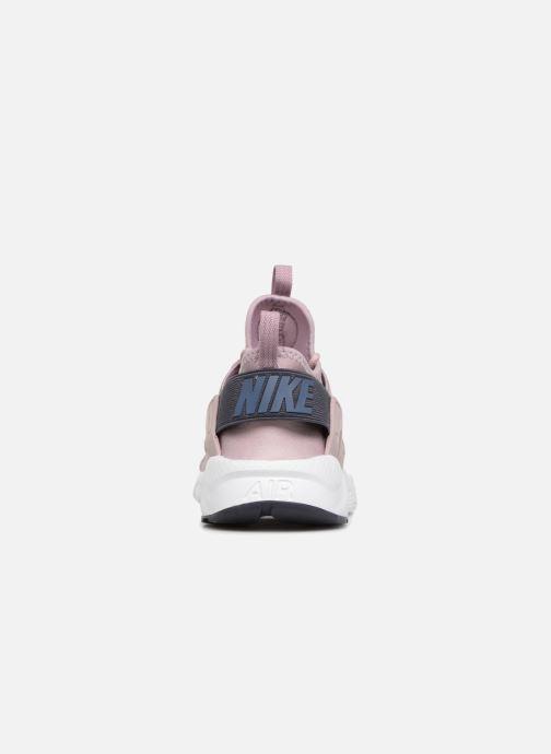 Baskets Nike Air Huarache Run Ultra (GS) Rose vue droite