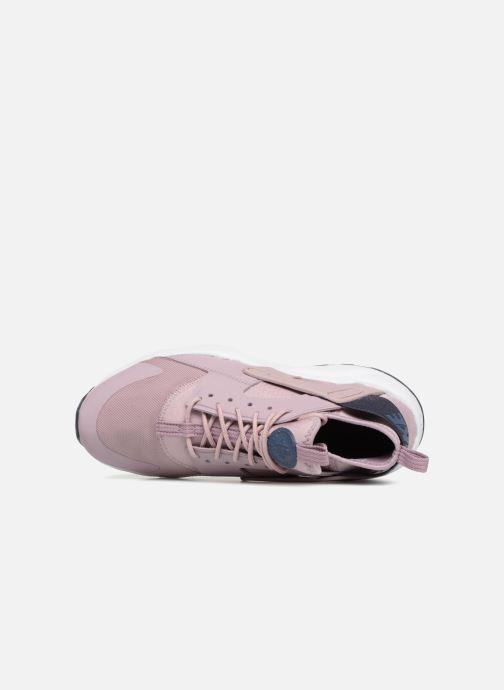 Deportivas Nike Air Huarache Run Ultra (GS) Rosa vista lateral izquierda
