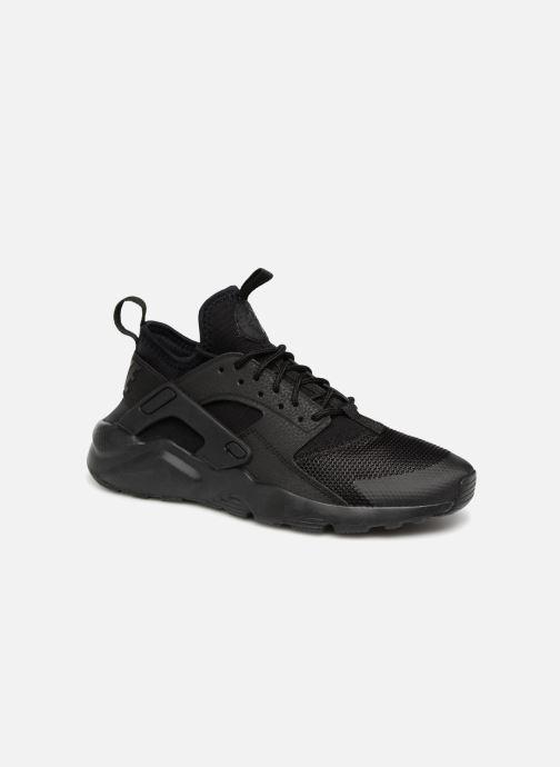Trainers Nike Air Huarache Run Ultra (GS) Black detailed view/ Pair view