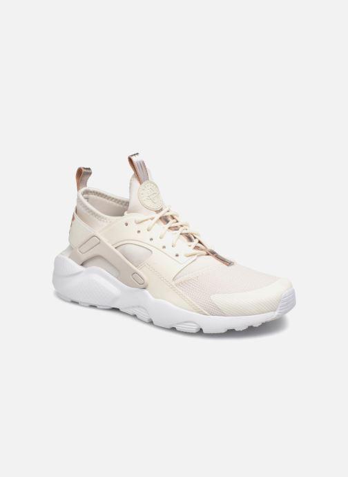 Trainers Nike Air Huarache Run Ultra (GS) White detailed view/ Pair view