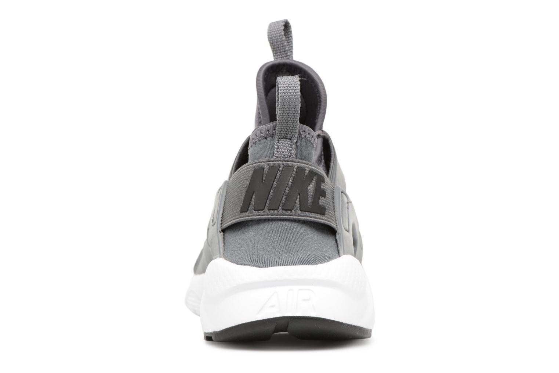Baskets Nike Air Huarache Run Ultra (GS) Gris vue droite