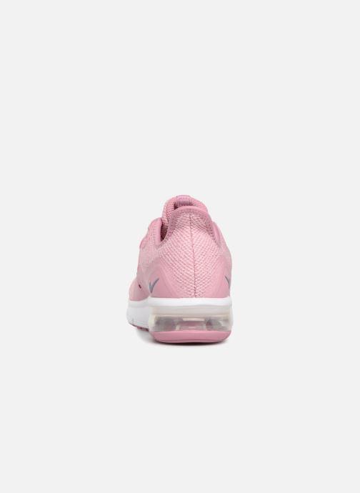 separation shoes 7d473 52750 Baskets Nike Air Max Sequent 3 (GS) Rose vue droite
