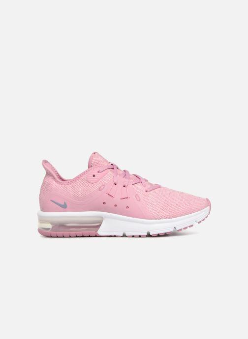Sneaker Nike Air Max Sequent 3 (GS) rosa ansicht von hinten