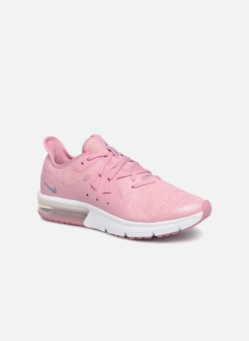 sale retailer a3dec d693a Baskets Nike Air Max Sequent 3 (GS) Rose vue détail paire