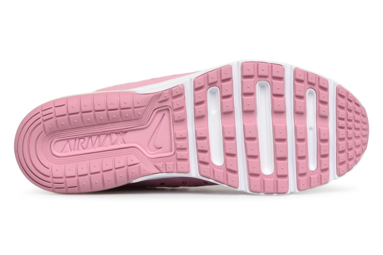 Sneaker Nike Air Max Sequent 3 (GS) rosa ansicht von oben