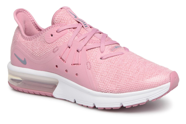Sneaker Nike Air Max Sequent 3 (GS) rosa detaillierte ansicht/modell