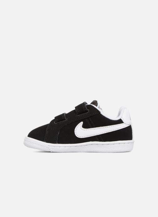 Trainers Nike Court Royale (TD) Black front view
