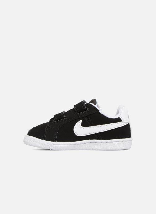 Deportivas Nike Court Royale (TD) Negro vista de frente