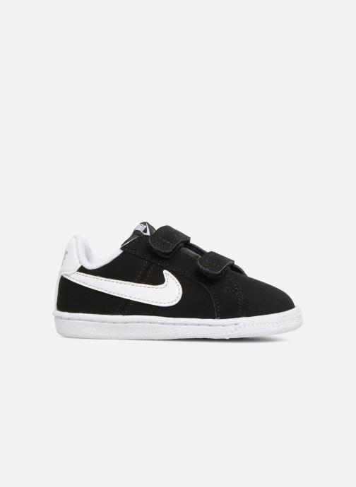 Deportivas Nike Court Royale (TD) Negro vistra trasera