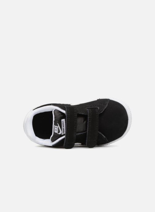 Deportivas Nike Court Royale (TD) Negro vista lateral izquierda
