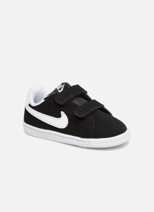 Trainers Nike Court Royale (TD) Black detailed view/ Pair view