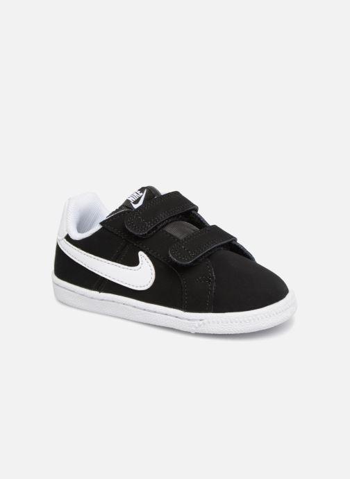 Deportivas Nike Court Royale (TD) Negro vista de detalle / par