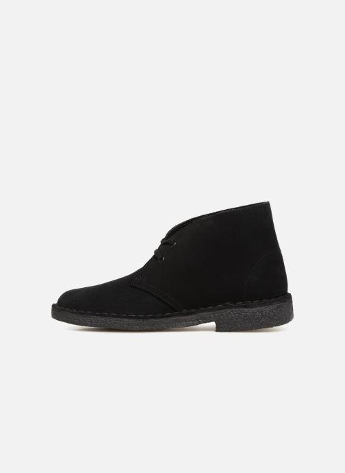 Bottines et boots Clarks Originals Desert Boot Noir vue face
