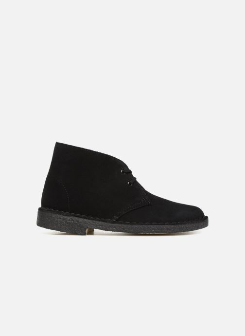 Botines  Clarks Originals Desert Boot Negro vistra trasera