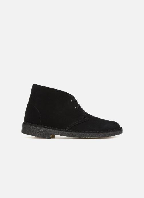 Bottines et boots Clarks Originals Desert Boot Noir vue derrière