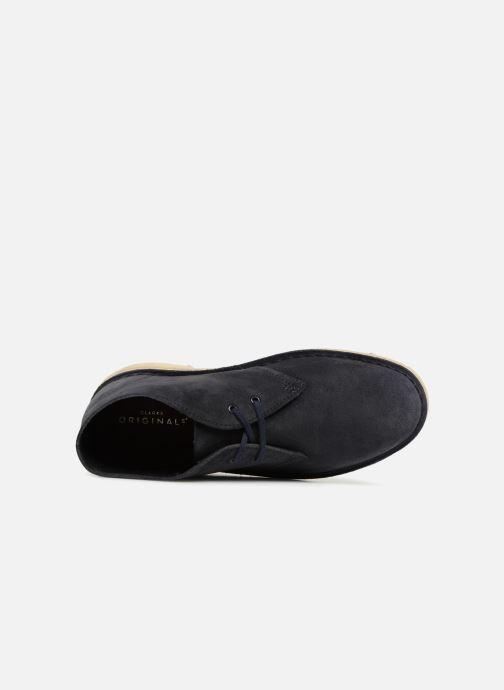 Boots en enkellaarsjes Clarks Originals Desert Boot Blauw links