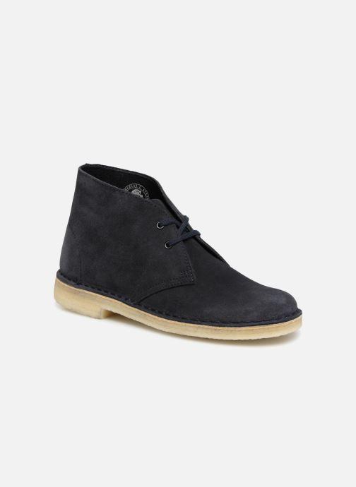 Bottines et boots Clarks Originals Desert Boot Bleu vue détail/paire