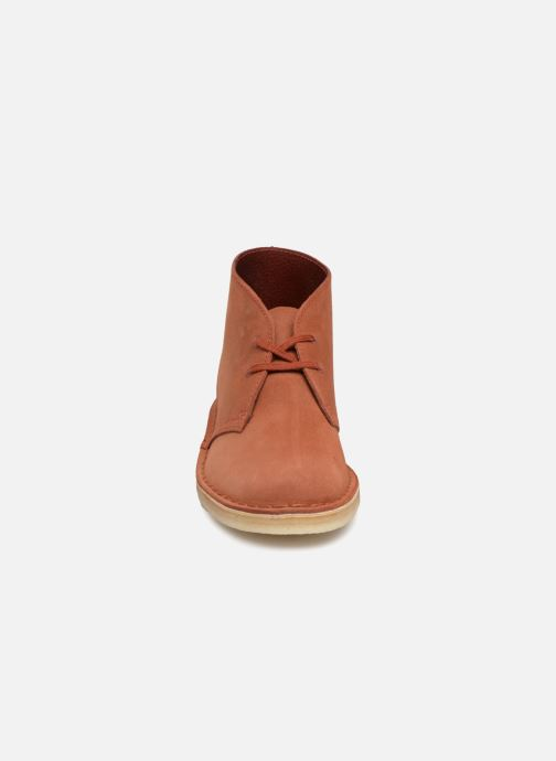 Ankle boots Clarks Originals Desert Boot Orange model view