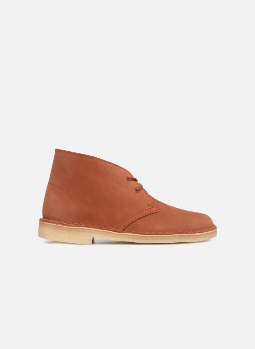 Ankle boots Clarks Originals Desert Boot Orange back view