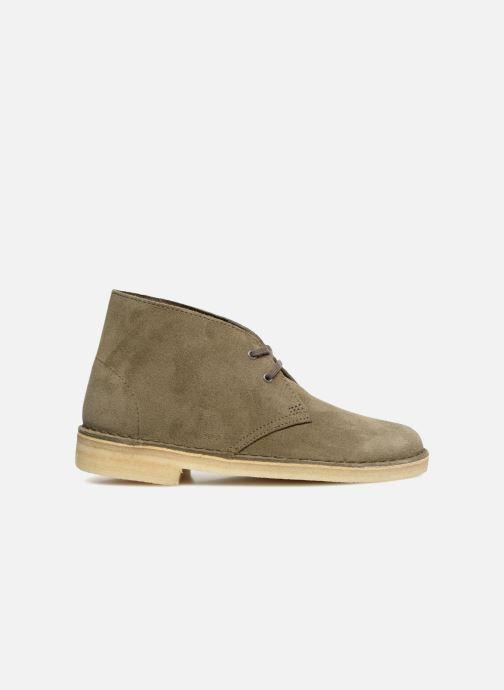 Boots en enkellaarsjes Clarks Originals Desert Boot Groen achterkant