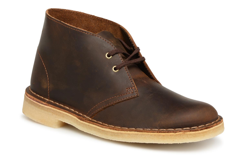 fe979508f00c9f Clarks Originals Desert Boot (braun) - Stiefeletten   Boots chez Sarenza  (337776)