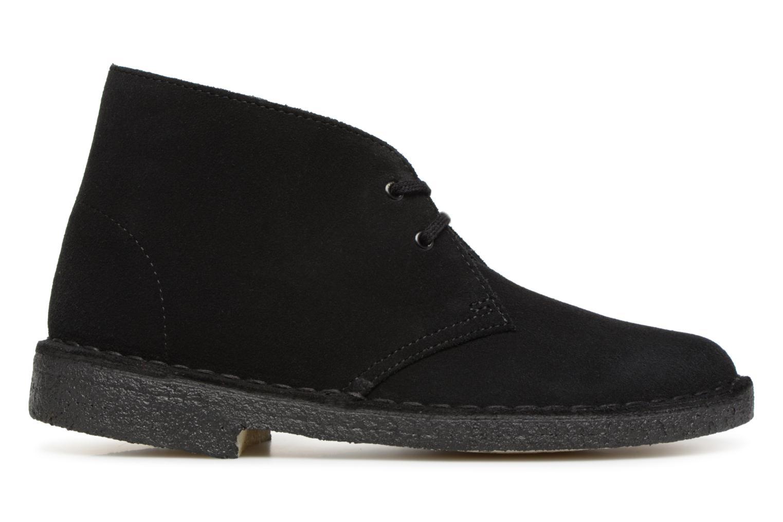 Boots en enkellaarsjes Clarks Originals Desert Boot Zwart achterkant