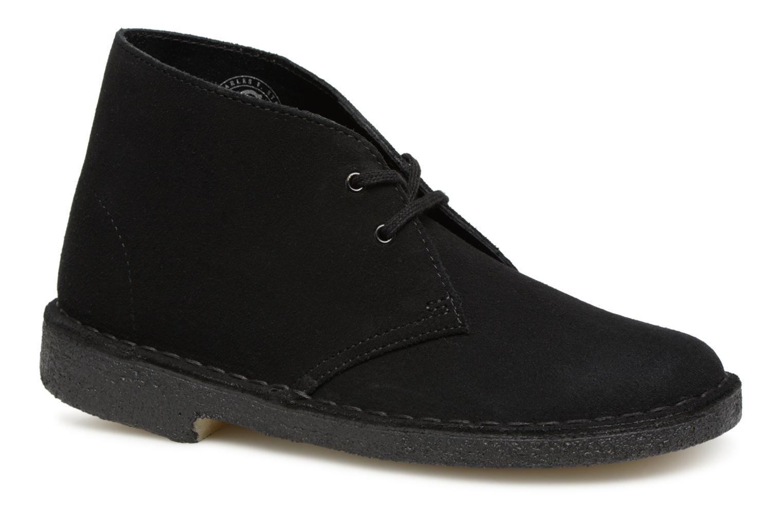 Boots en enkellaarsjes Clarks Originals Desert Boot Zwart detail