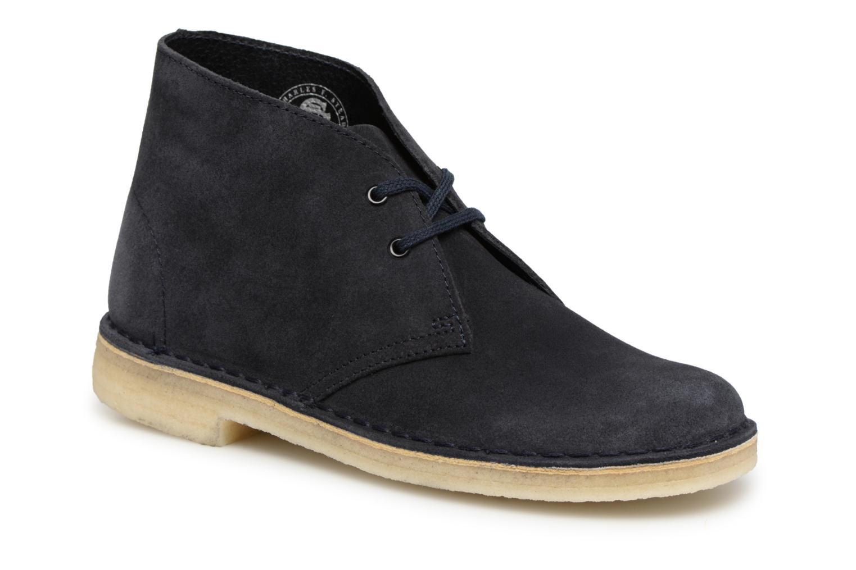 Zapatos de mujer baratos zapatos Originals de mujer  Clarks Originals zapatos Desert Boot (Azul) - Botines  en Más cómodo ef84be