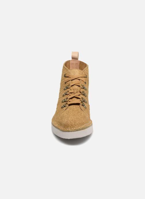 Sneakers Clarks Originals Nala Hike Gul se skoene på