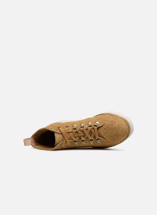 Sneakers Clarks Originals Nala Hike Gul se fra venstre