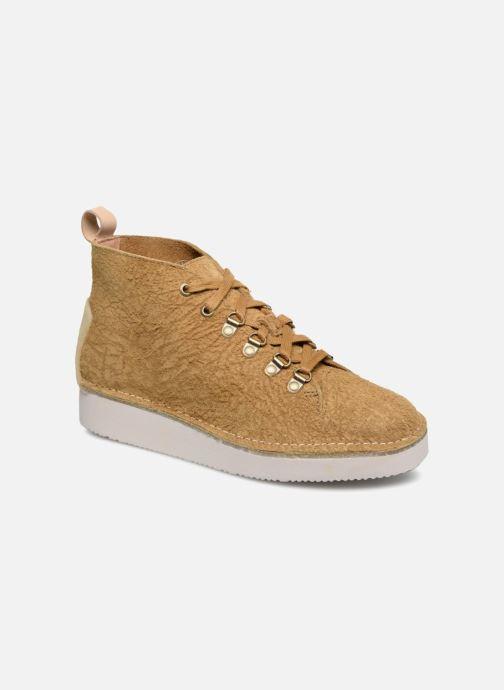Sneakers Clarks Originals Nala Hike Gul detaljeret billede af skoene