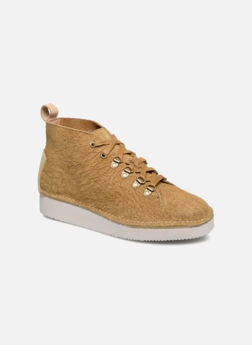 Sneaker Clarks Originals Nala Hike gelb detaillierte ansicht/modell