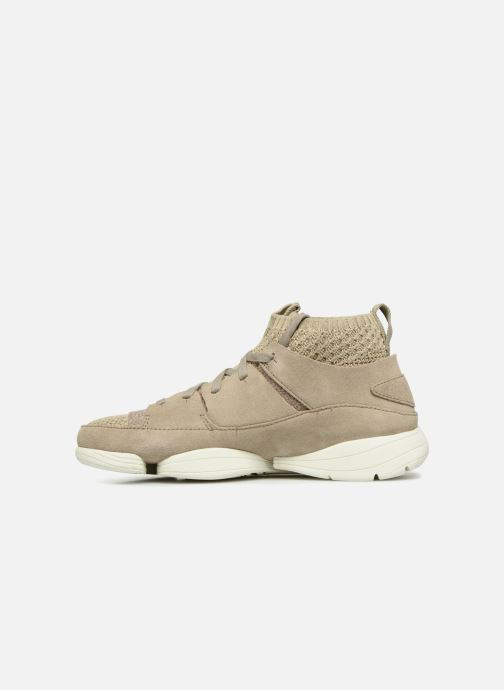 Baskets Clarks Originals Trigenic Evo. Beige vue face