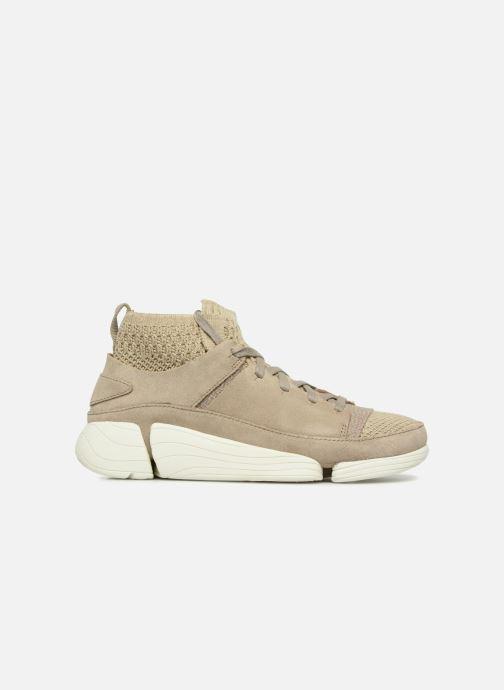 Sneakers Clarks Originals Trigenic Evo. Beige immagine posteriore