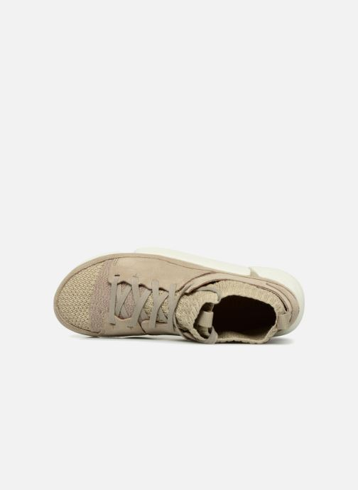 Baskets Clarks Originals Trigenic Evo. Beige vue gauche