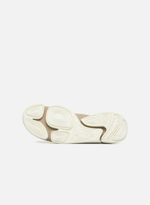 Sneaker Clarks Originals Trigenic Evo. beige ansicht von oben