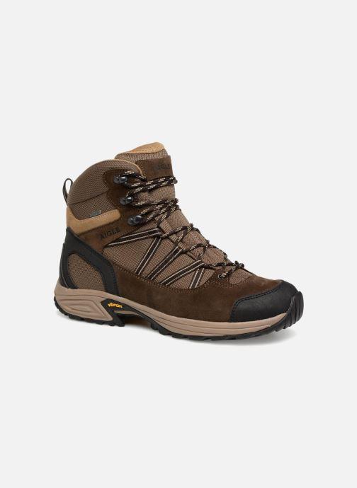 Stiefeletten & Boots Aigle Mooven Mid Gtx braun detaillierte ansicht/modell