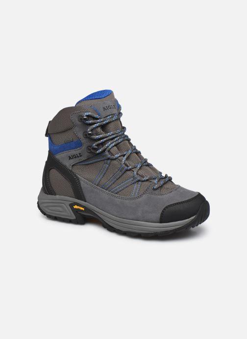 Bottines et boots Aigle Mooven Mid Gtx Gris vue détail/paire