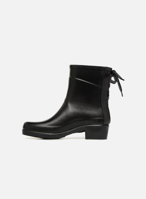 Bottines et boots Aigle Miss Juliette Bottillon Lacets Noir vue face